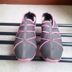 Polo Sport Gray/Pink Athletic Shoes Size 9B
